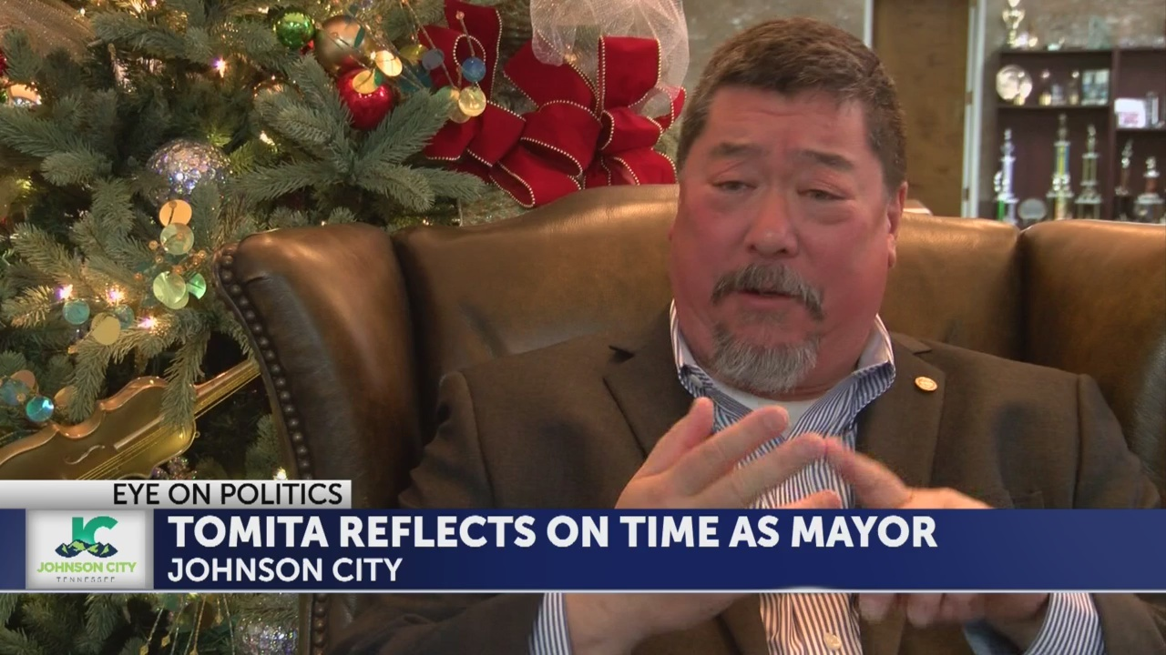 David Tomita reflects on his two years as Johnson City mayor