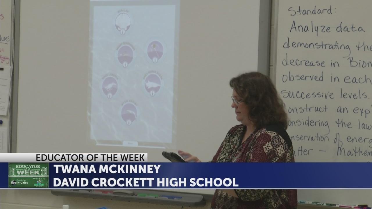 Twana McKInney is Educator of the Week