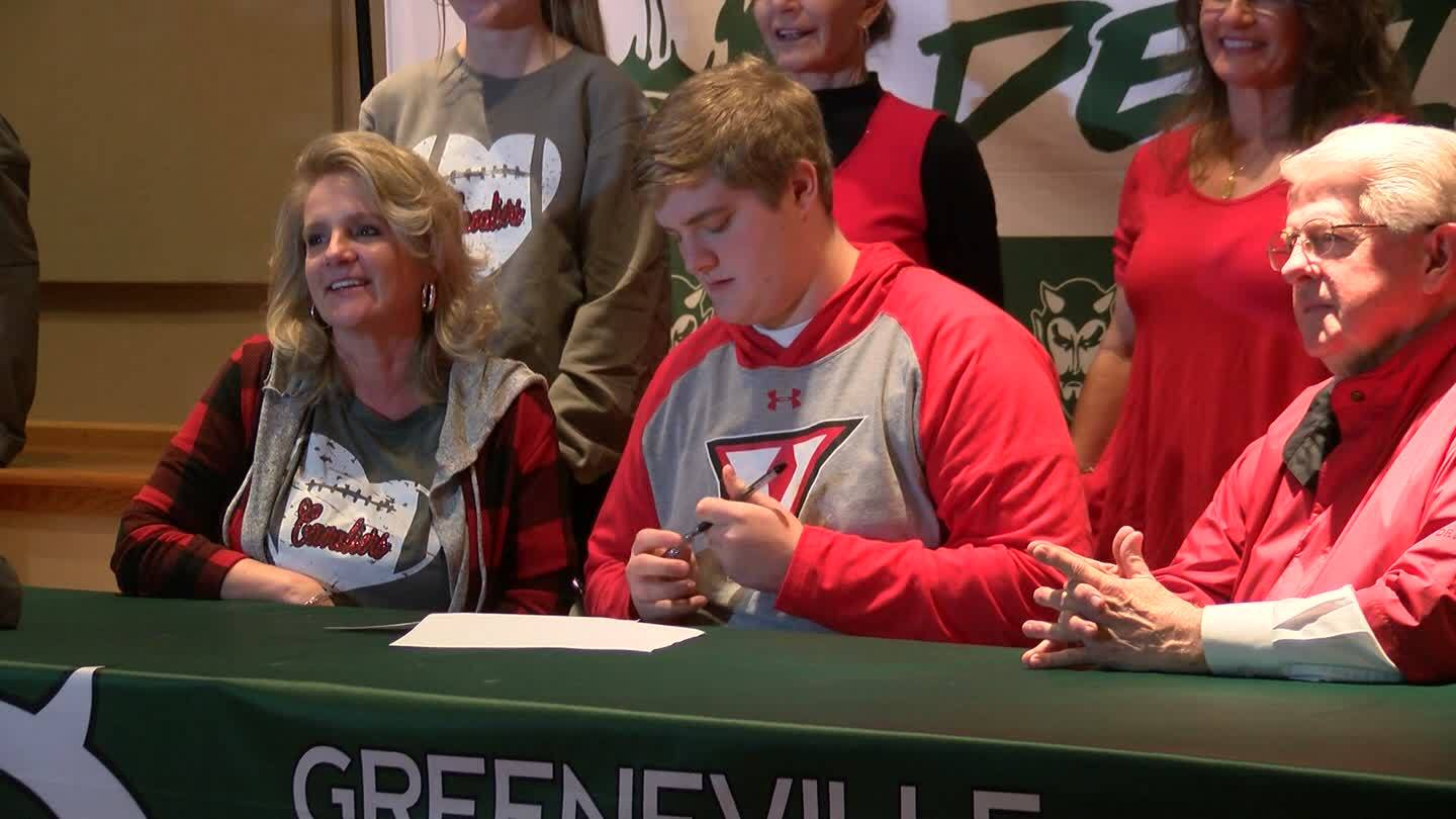 Tommy Taylor signs with UVA-Wise