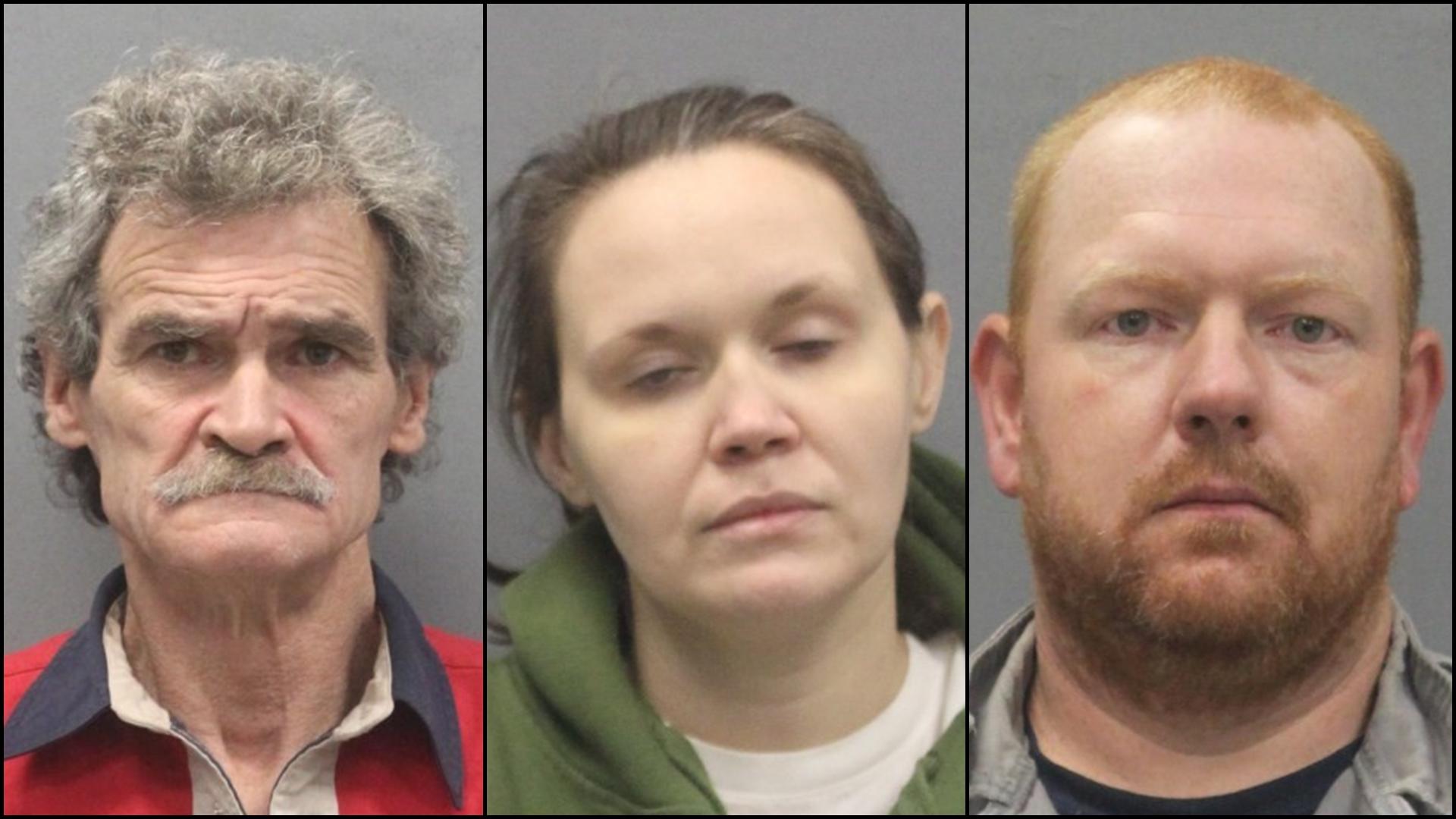 Three arrested in Glade Spring drug bust