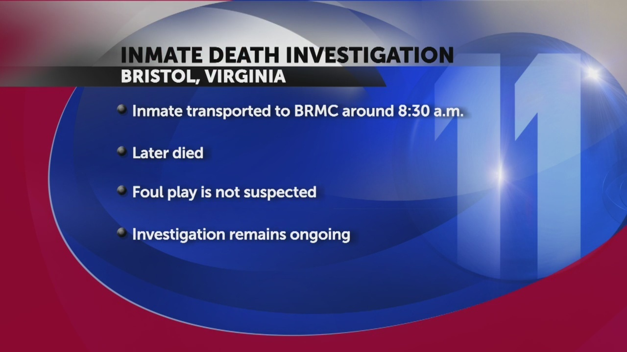 Bristol inmate death being investigated