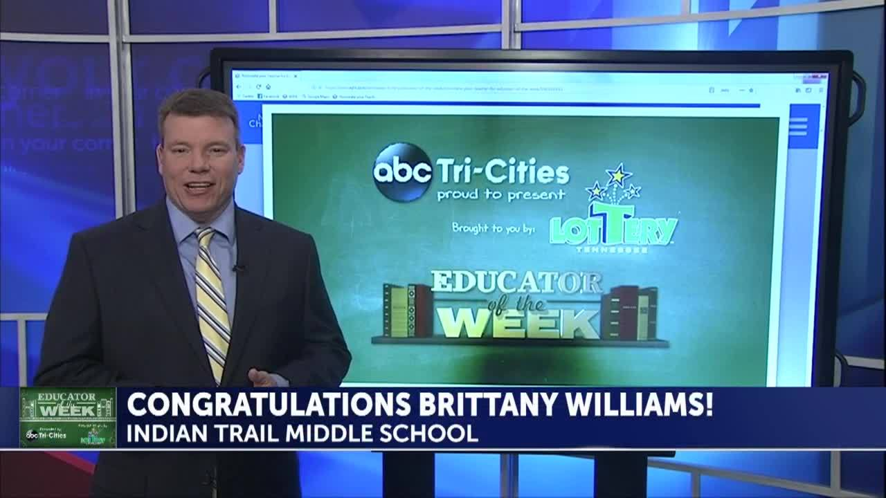 Educator of the week: Brittany Williams