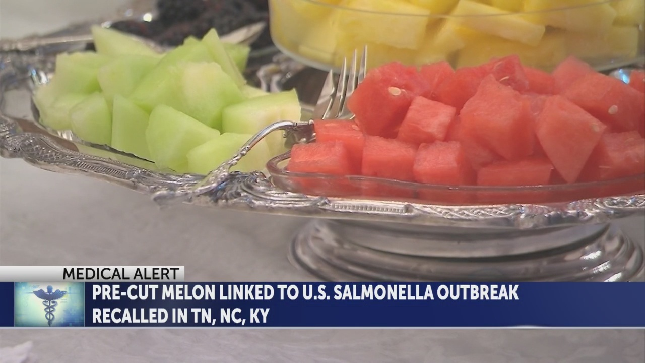 Pre-cut melon linked to salmonella outbreak recalled in TN, NC, KY