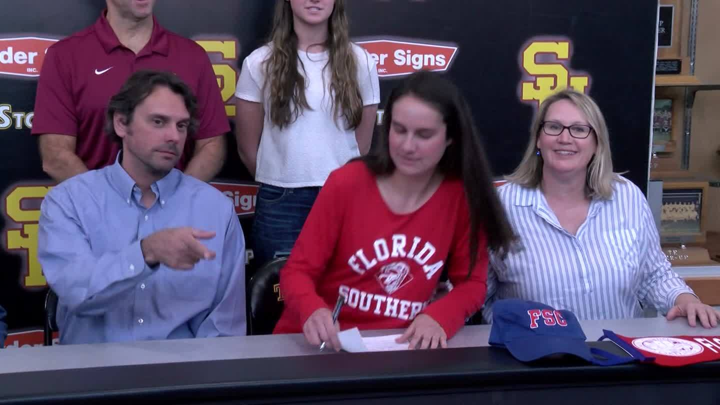 Science Hill swimmer Morgan Misenar signs with Florida Southern