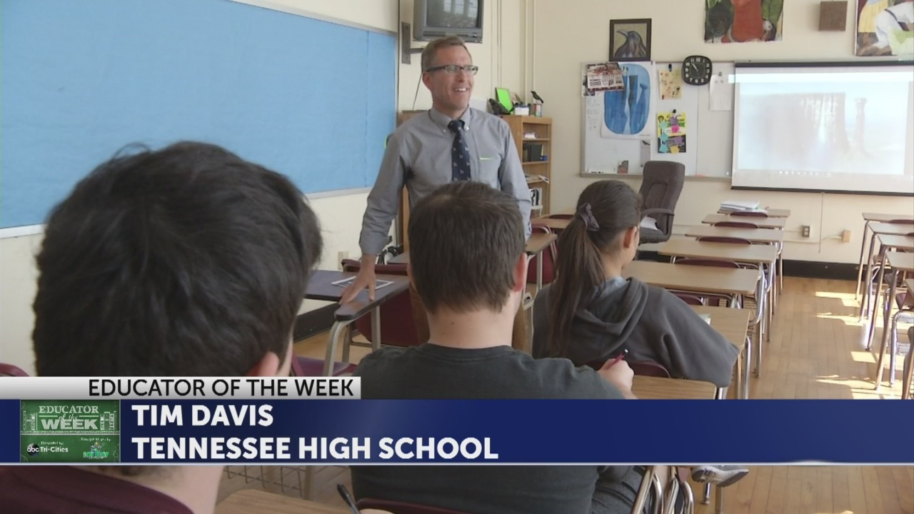 Tim Davis is Educator of the Week