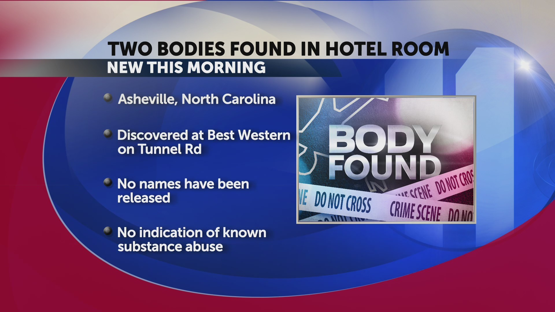 Unidentified bodies found in Asheville hotel