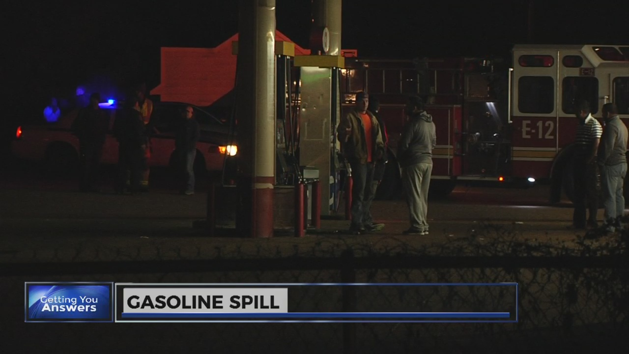 Gas spill costing business owner thousands in repairs