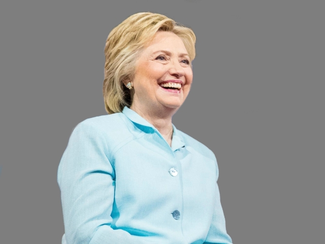 Hillary Clinton by AP Graphics AP_445184205292_184686