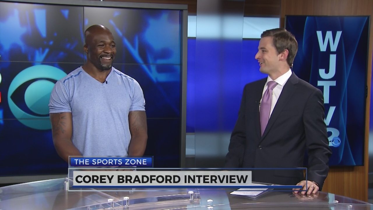 The Sports Zone: Corey Bradford Interview