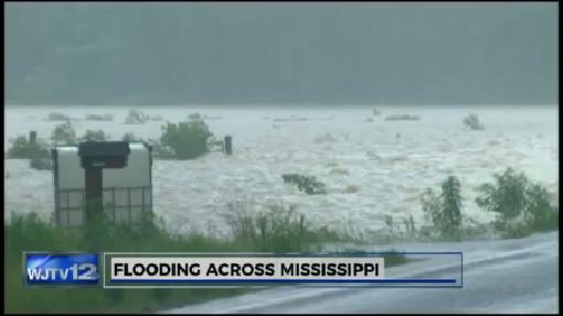 Flooding Across Mississippi_203288