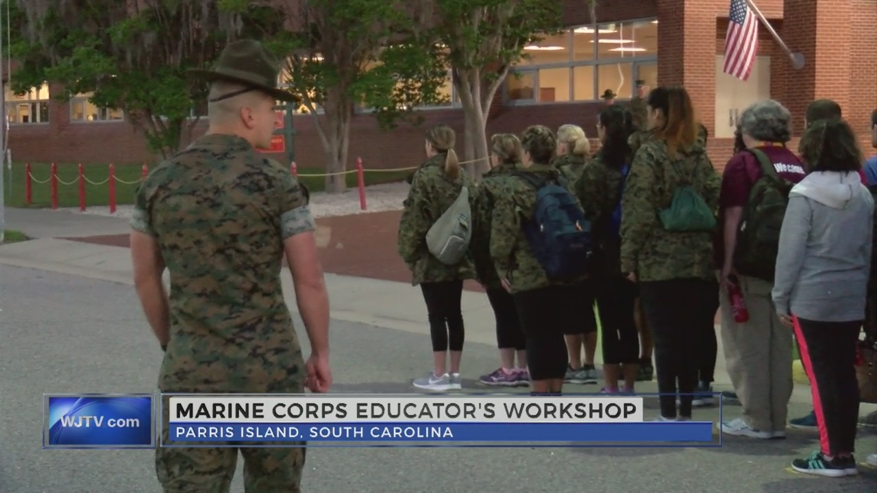 WJTV Goes to Boot Camp: Marine Corps Educator's Workshop