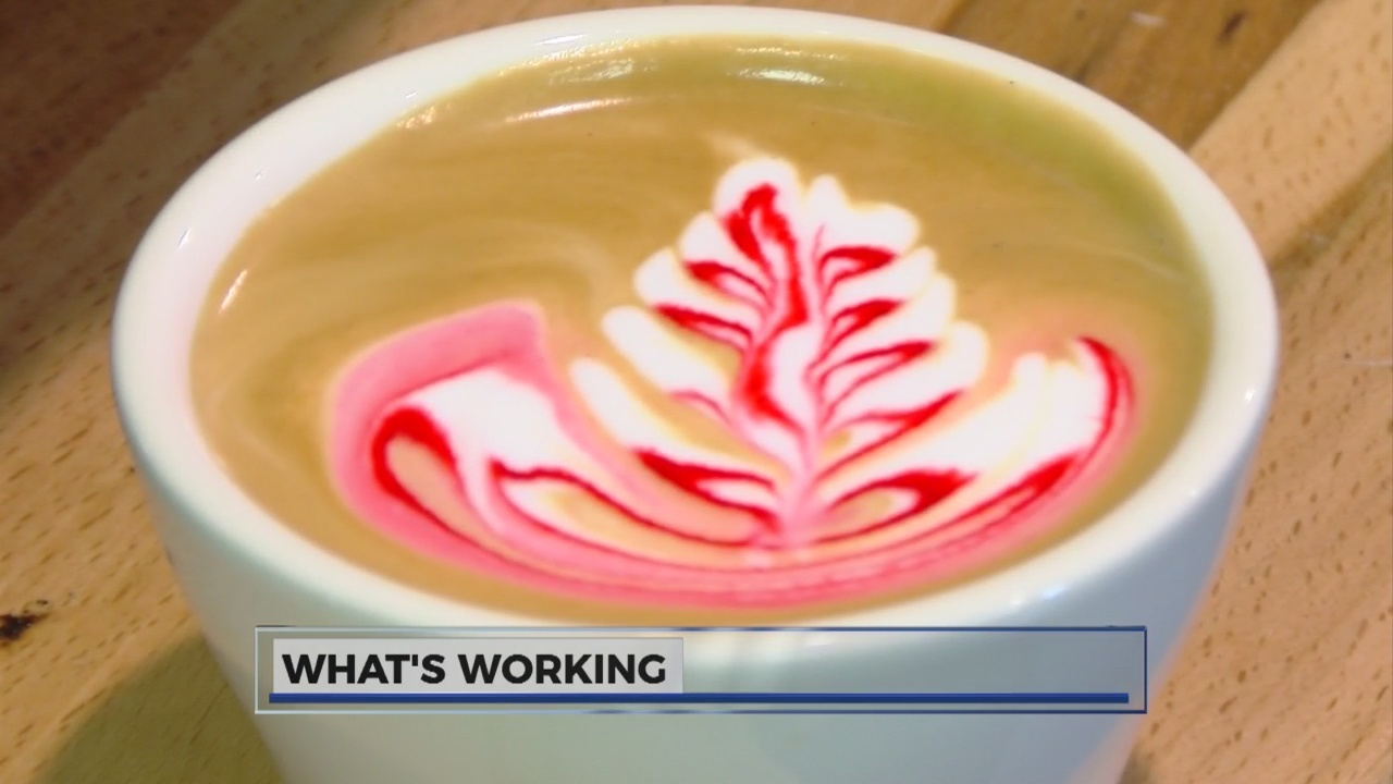 Creating Latte Art