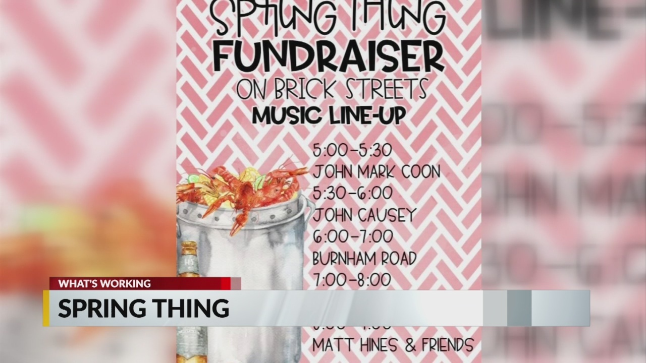 Spring Thing Coming to Clinton