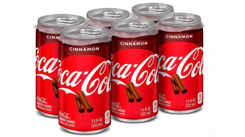 Cinnamon Coke and spiced cranberry Sprite will be in stores