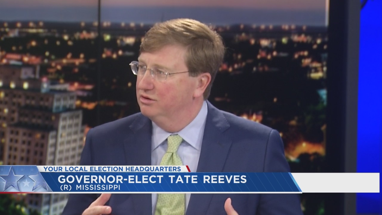 Governor-Elect Tate Reeves