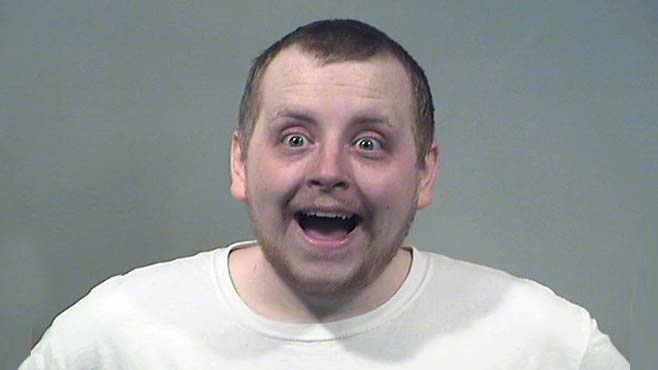 Kenneth Evans, charged with domestic violence in Brookfield.
