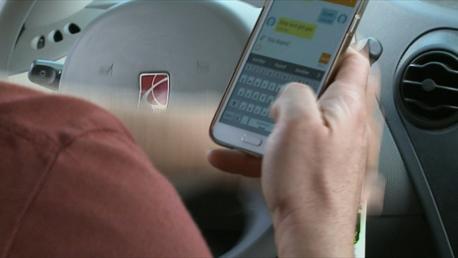 Texting and distracted driving generic