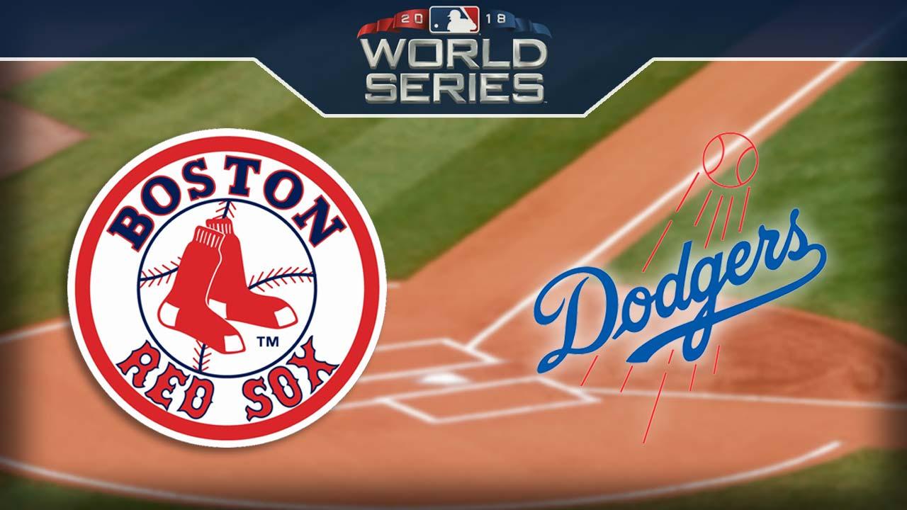 2018 World Series – Boston Red Sox vs. Los Angeles Dodgers