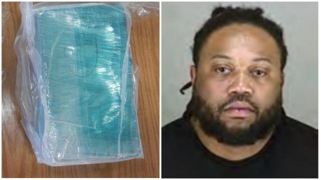 Antoine Moman turnpike drug arrest