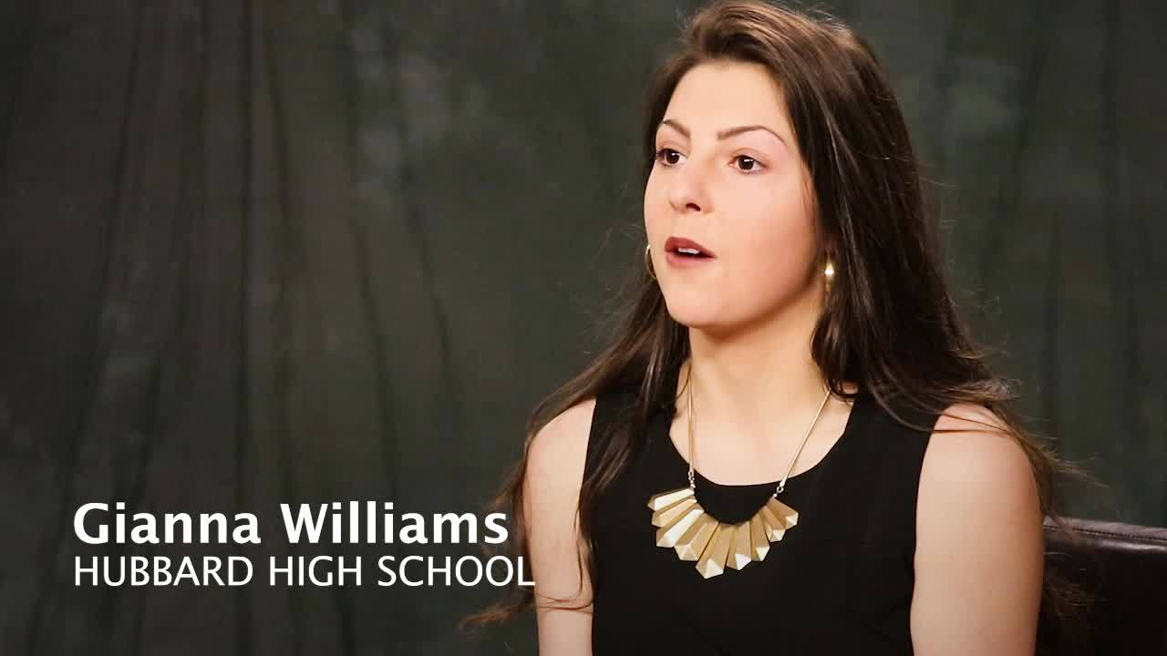 WKBN Scholarship - Gianna Williams interview