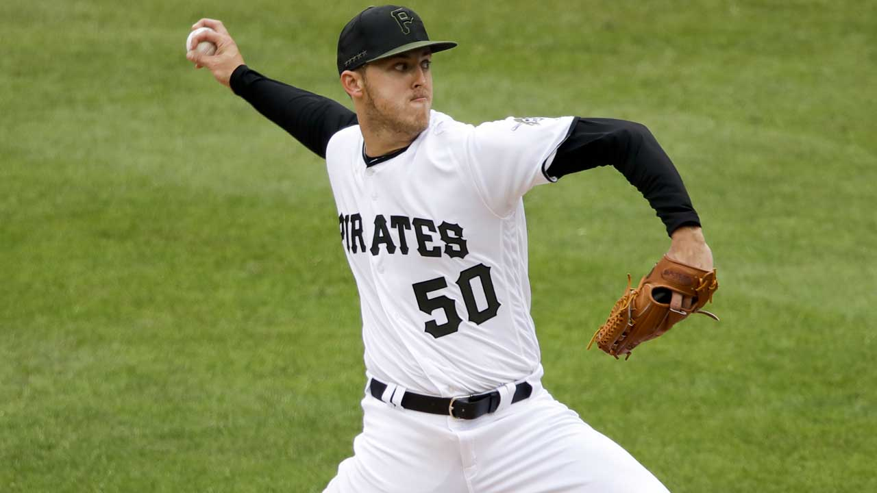 Pittsburgh Pirates starting pitcher Jameson Taillon