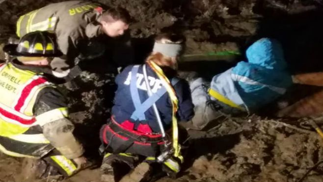 Windsor mud rescue