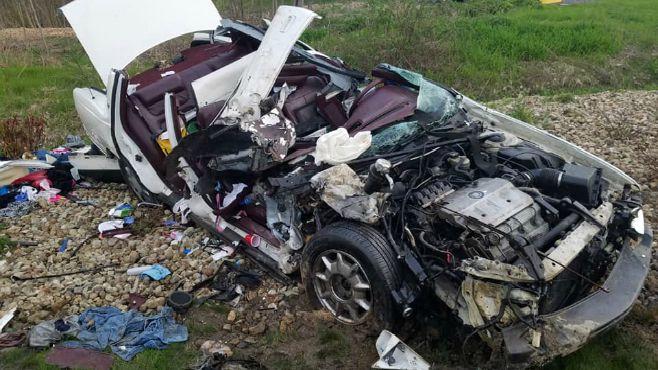 Burton accident vehicle