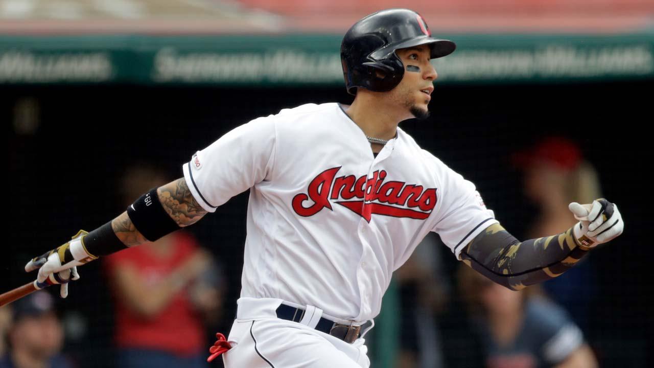 Cleveland Indians' Carlos Gonzalez