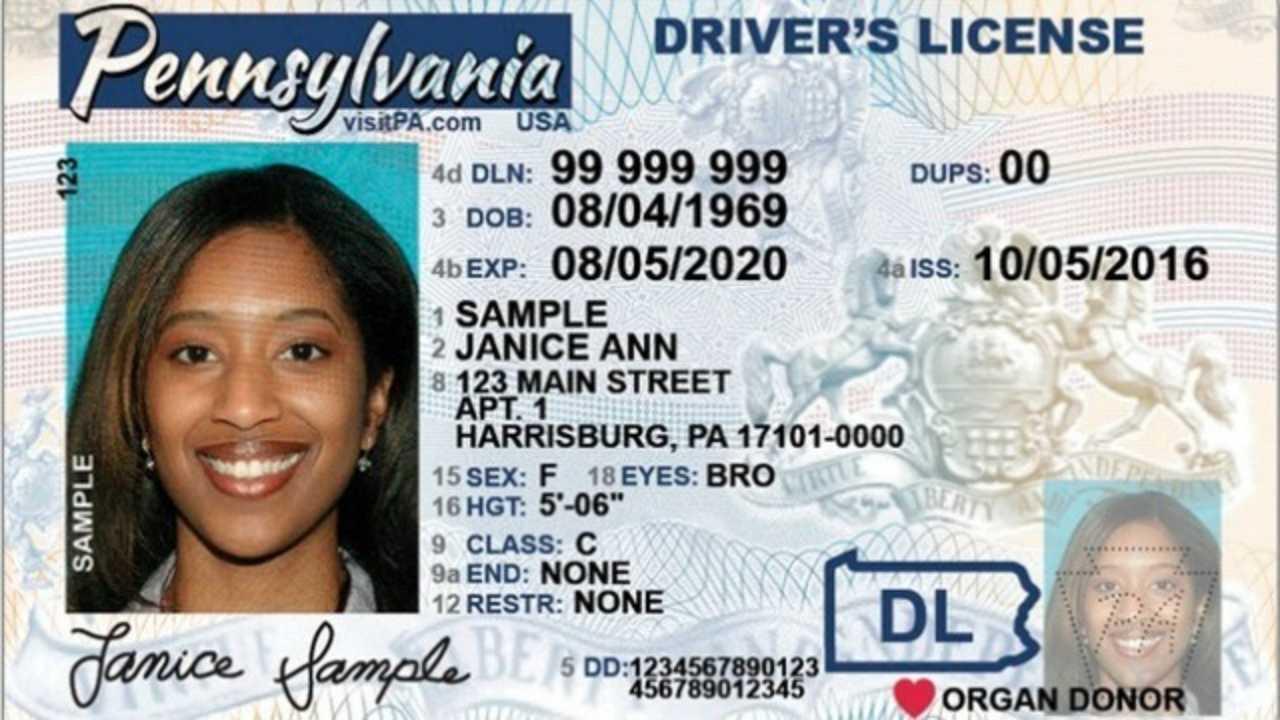 Pennsylvania REAL ID