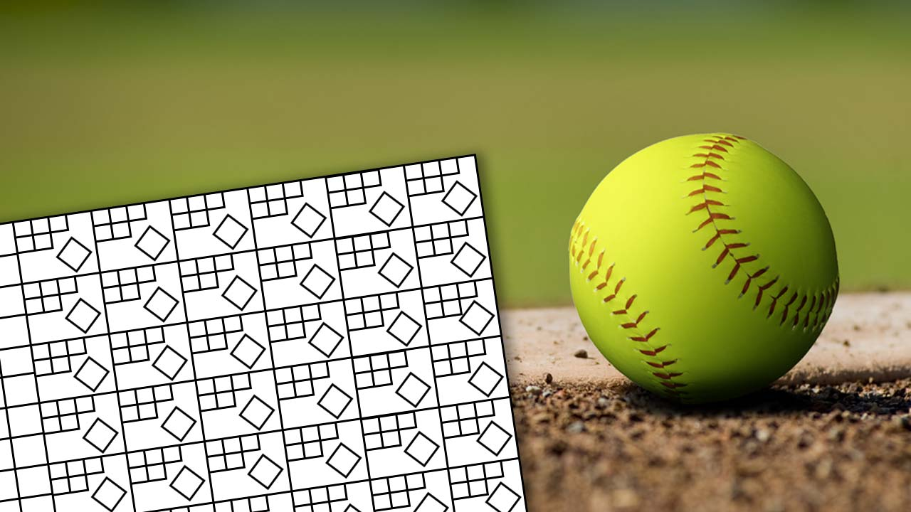 Generic Softball Scorecard