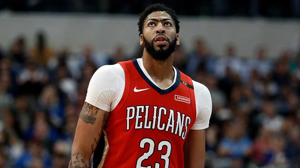 New Orleans Pelicans' Anthony Davis, Los Angeles Lakers