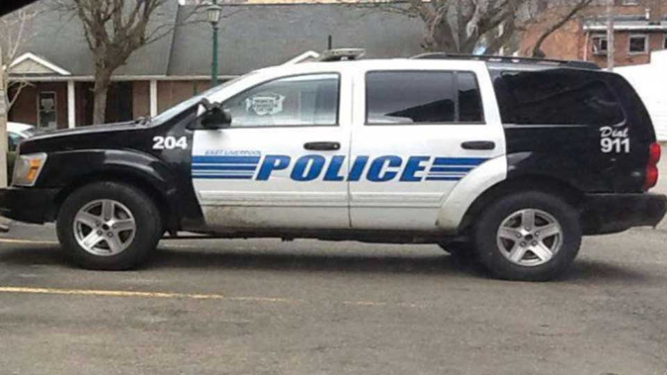 East Liverpool police car