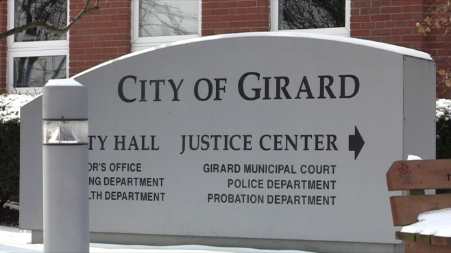 City of Girard sign_117624