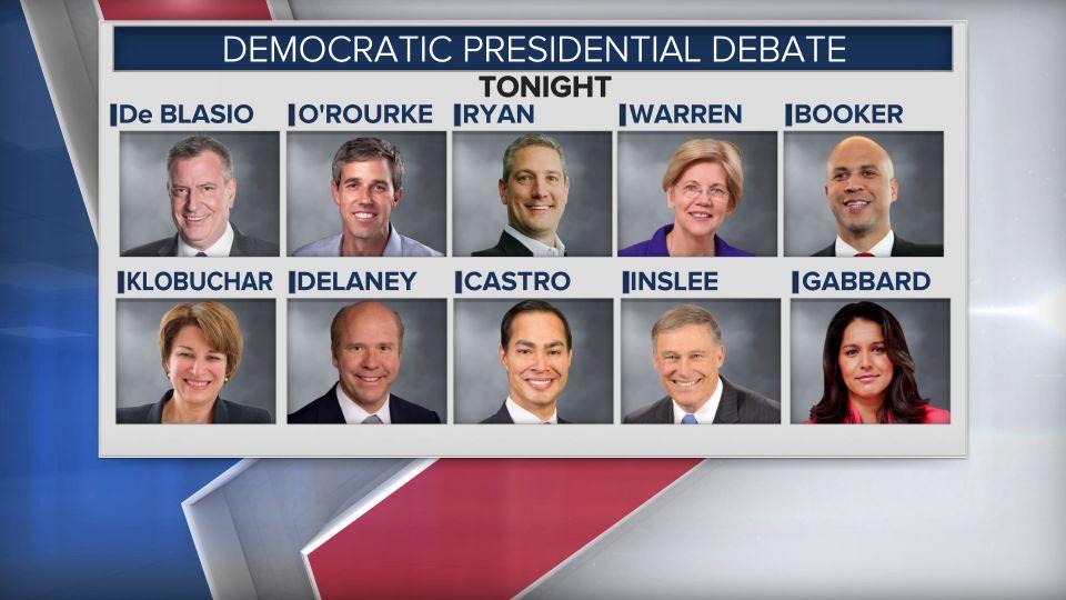 Congressman Tim Ryan will participate in a debate in Miama, Fla.