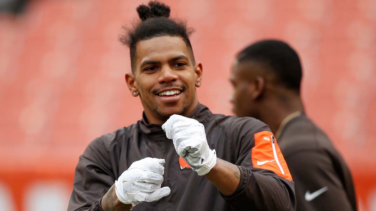 Former Cleveland Browns wide receiver Terrelle Pryor