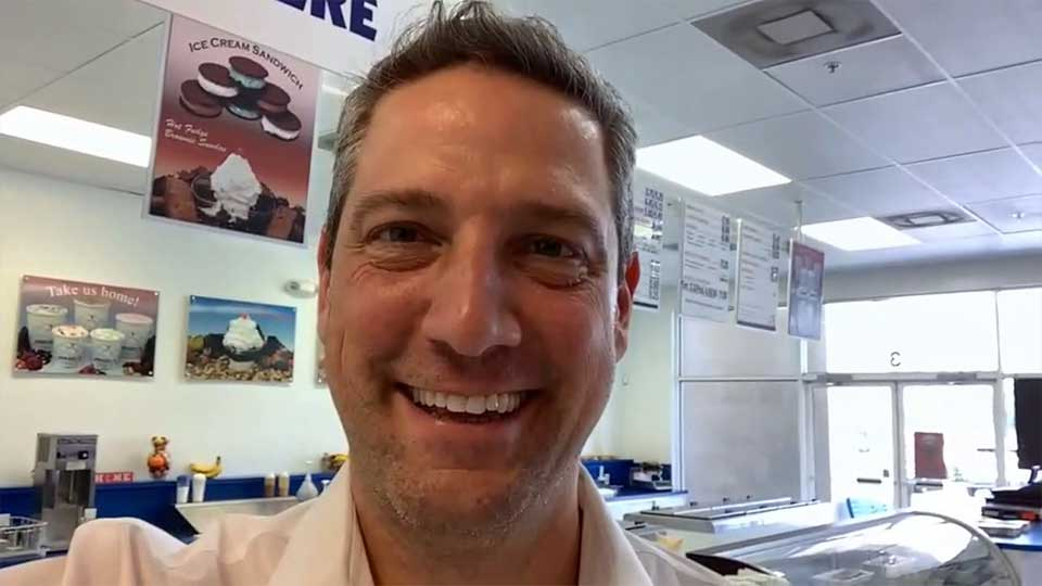 Congressman Tim Ryan spoke to WKBN from the Handel's Ice Cream shop in Bonita Springs, Florida. He's in Florida for the first round of presidential debates.