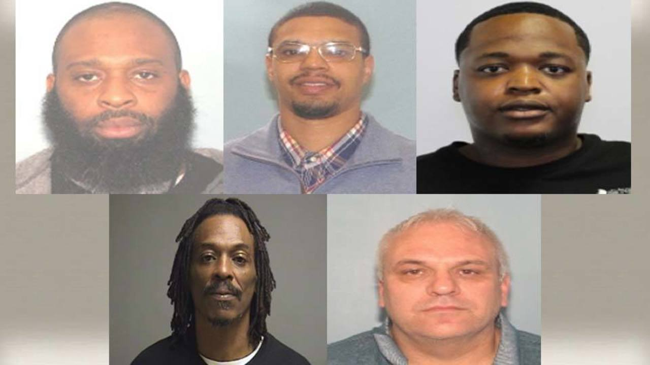Top 5 fugitives