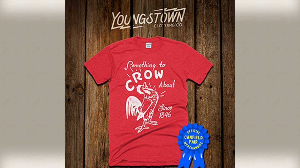 Youngstown Clothing Company designed a shirt for the Canfield Fair.