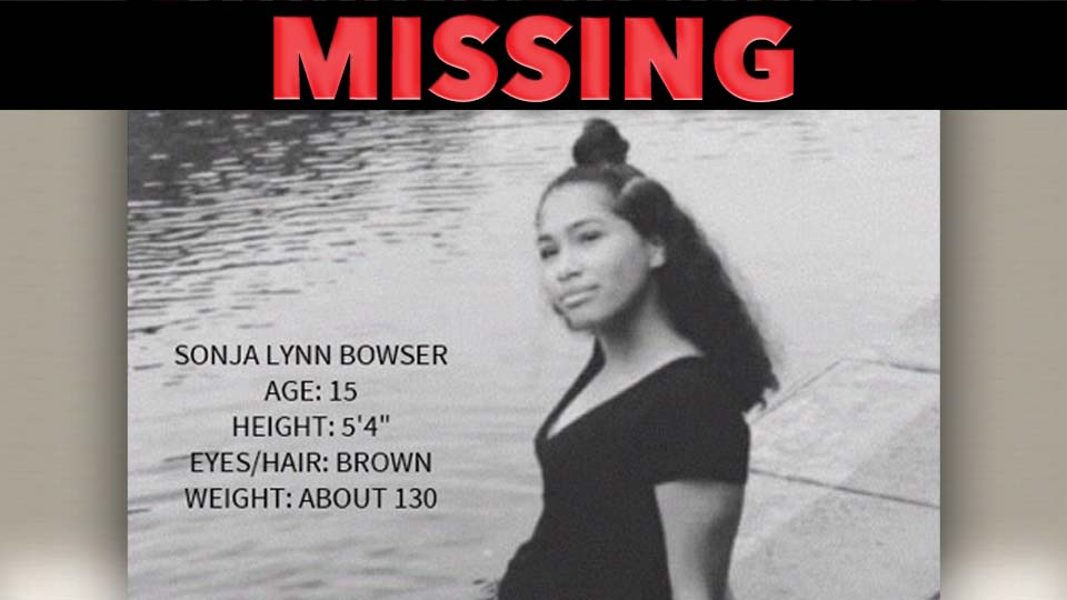 Missing: Sonja Lynn Bowser, last seen in Grove City, Pennsylvania