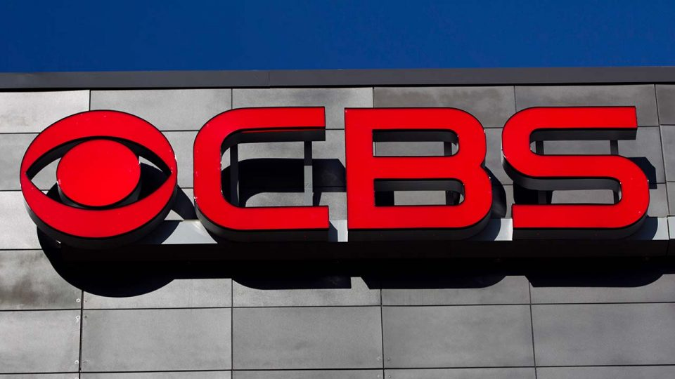 A CBS logo is displayed on the exterior of CBS Scene Restaurant and Bar.