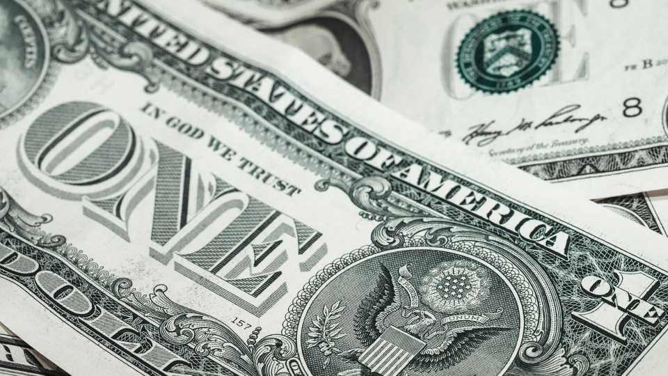 Money, dollar bill