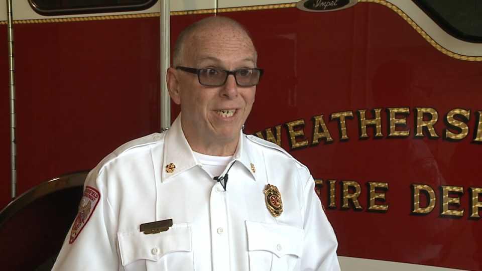 Late Weathersfield Fire Chief Randall Pugh