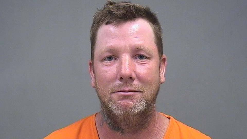 Eric Moschella, charged with having weapons under disability in Youngstown, Ohio.