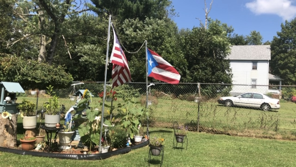 Puerto Rican flag, Youngstown, Ohio