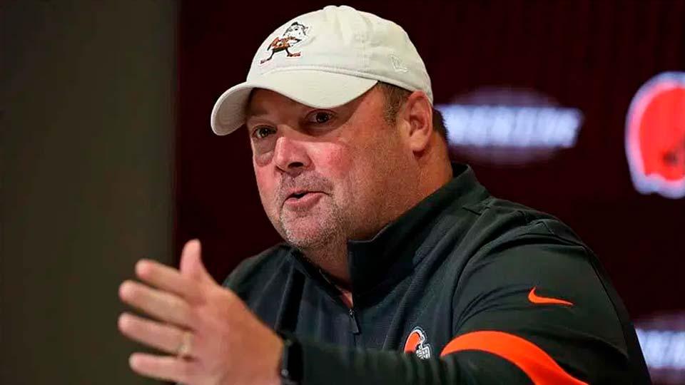 Freddie Kitchens, Cleveland Browns Head Coach.
