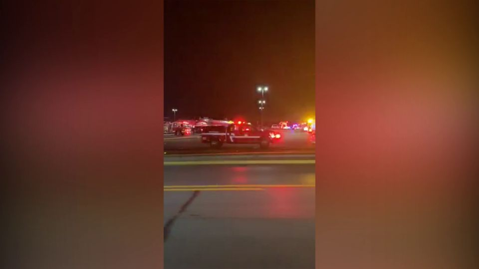 A bowling alley in Hermitage, Pa. was damaged by fire.