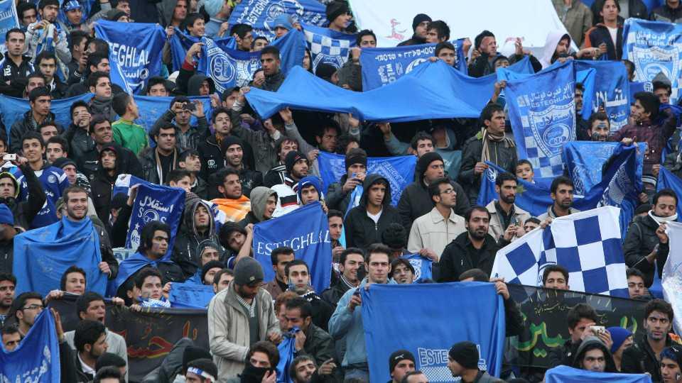 Esteghlal, Iranian soccer team fans