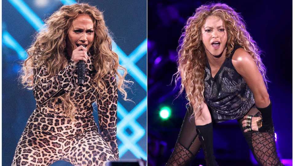 Jennifer Lopez, Shakira performing in Super Bowl Halftime Show