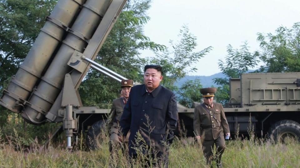 Kim Jong Un rocket launch
