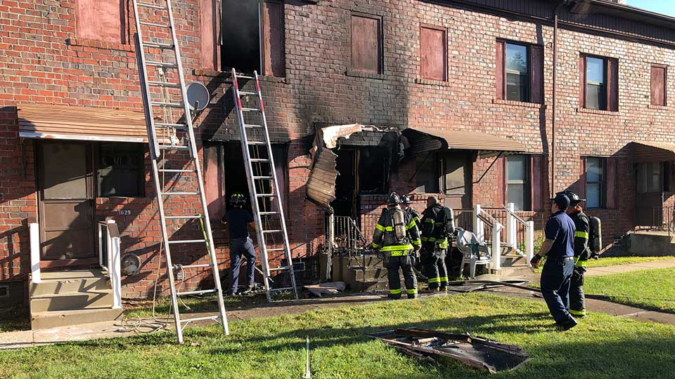 Youngstown fire crews are on the scene of a fire at 1631 Shehy St.